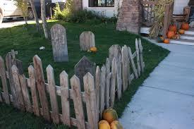 Halloween Cemetery Fence by My Spooky Pallet Graveyard Twelve On Main