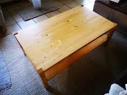 ikea couchtisch tisch wohnzimmer massivholz ahorn 120x70x45 cm