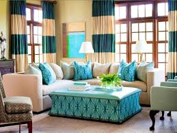 Brown And Teal Living Room Curtains by Living Room Brown And Turquoise Curtains For Living Room
