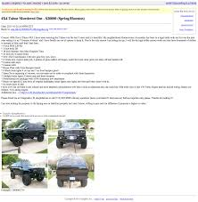 100 Houston Craigslist Trucks Fools Gold SCREENSHOT YOUR ADS The Something Awful Forums