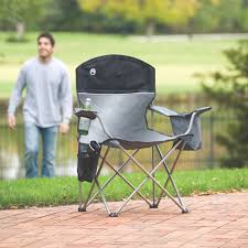 Coleman Oversized Padded Quad Chair Side Cooler by About Oversized Lawn Chair