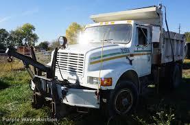 100 International 4700 Dump Truck 1992 Dump Truck Item DF1931 SOLD Nov