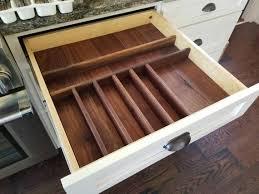 küche schublade veranstalter büro schublade organizer benutzerdefinierte silberbesteck schublade