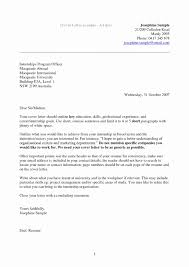 Cover Letter For A Administrative Position Fresh Sample Part Time Job New