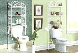 Above Toilet Storage Ideas Bathroom Over Full Size Of The