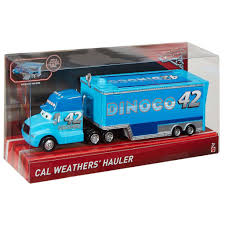 100 Disney Mack Truck Hauler Cal Weathers Cars Mattel Bitz Buttons