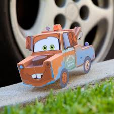 Title Is Best Friend To Lightning McQueen But He Can Be Just As Loyal You Spend A Little Time Building This Tow Tally Awesome Papercraft
