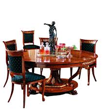 Zoom Image F Russian Empire Dining Table With Inlaid Top Traditional Wood Room By Schnadig Ii