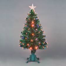 6ft Fibre Optic Christmas Tree With Stars by 3 Ft Fiber Optic Christmas Tree Christmas Lights Decoration