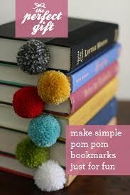 DIY Yarn Ball Pom Bookmark Tutorial Featured By Popular Lifestyle Blogger Design Mom