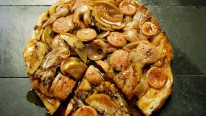 cuisine boudin blanc tatin de boudin blanc échalote et pommes