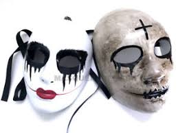 The Purge Mask Halloween Express by The Purge God Cross Mask Anarchy Horror Kiss Me Halloween