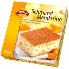 thoks schmand mandarinen kuchen 550g