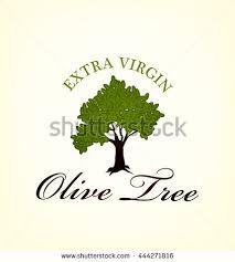 olive oil tree label vector illustration Eps 10