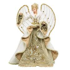 Christopher Radko Gilded Angel Tree Topper