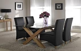 Fantastic Glass Dining Tables Room Simple Teak Table L Bdafd
