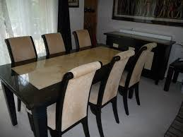 Marble Dining Table Chairs And Sideboard Excellent Condition Gumtree London Round Glass Chrome Tall Room Sets
