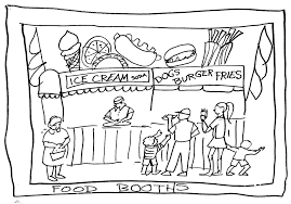 Big Tex Texas State Fair Coloring Pages