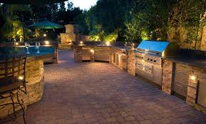 lighting for your outdoor kitchen a1 electrical