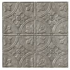 shop fasade ceiling tile actual 24 25 in x 24 25 in at lowes com
