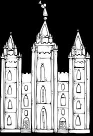 Jesus Clears The Temple Coloring Page Salt Lake