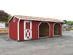 run in sheds horse shed design u0026 shed plans