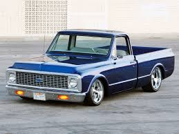 Beautiful Blue 1972 Chevrolet C10 Custom Pickup | Random Car Stuff ...