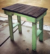 Diy Wood Pallet End Table Tables