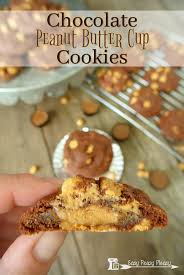 Chocolate Peanut Butter Cup Cookies Easy Peasy Pleasy