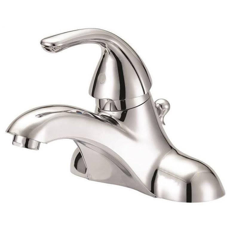 Boston Harbor Lavatory Single Handle Faucet - Chrome, 4""