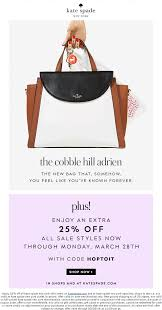 Kate Spade Coupons - Extra 25% Off Sale Items At Kate Kate Spade Coupons 30 Off At Or Online Via Promo Code New York Promo Code August 2019 Up To 40 Off 80 Off Lussonet Coupons Discount Codes Wethriftcom Spade Coupon Coupon Coupon Archives The Fairy Tale Family Framed Picture Dot Monster Iphone 7 Case Multi Kate July Average 934 Apex Finish Line Fire Systems Competitors Revenue And Popsugar Must Have Box Review Winter 2018 Retailers Who Will Reward You For Abandoning Your Shopping Cart 2017