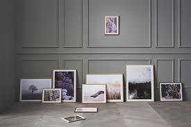 fotos aufhängen goldene regeln ideen schöner