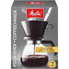 Melitta Pour Over Glass Carafe Brewing Cone