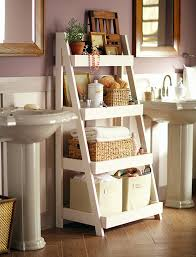 Floor To Ceiling Tension Rod Shelves by 25 Bathroom Space Saver Ideas