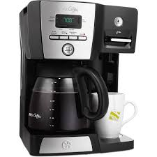 Mr Coffee 12 Cup Programmable Maker And Hot Water Station Black