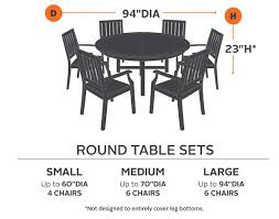 Standard Dining Room Furniture Dimensions by 94