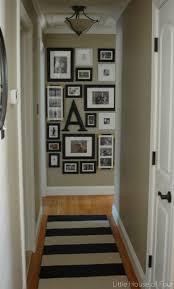 home design best narrow hallway decorating ideas on