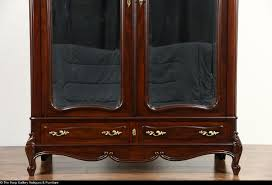 French 1910 Antique Mahogany Armoire Or Wardrobe, Beveled Mirror ... Mahogany Armoire Abolishrmcom 90 Off Ralph Lauren Mahogany Armoire Storage Antique Blackcrowus 19th Century Louis Xiv St 61 Best Bookcases And Display Cabinets Images On Pinterest A Dutch Neoclassical With Floral Marquetry Inlay Amazoncom Southern Enterprises Jewelry Classic Fniture Chifferobe For Sale Wardrobe Bedroom Wonderful Design Home Perfect Doing Your Makeup Before Work And Aessing