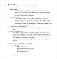 Persuasive Speech Outline Template – 9 Free Sample Example