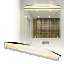 details zu 15w warmweiß led spiegelleuchte acryl spiegelle design wandleuchte badezimmer