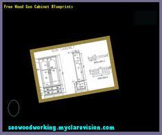 Free Wooden Gun Cabinet Plans by Wood Gun Cabinet Plans 093228 Woodworking Plans And Projects