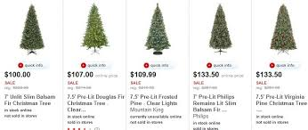 Target All Christmas Trees 50 Today Only Simpically Living