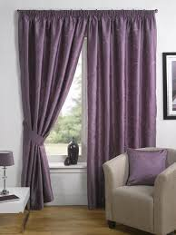 great purple living room curtains for big windows with white