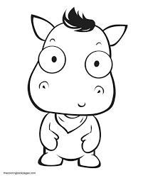 Pin Drawn Dinosaur Cute Baby Animal 6