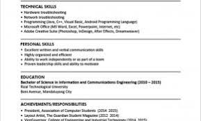 Pictures Gallery Of Resume Website Examples 2016