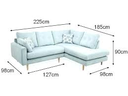 taille canapé dimension canape angle dimensions du meuble canapac angle moderne