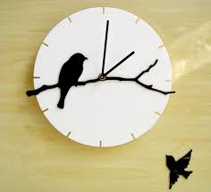 Wall Watches Acrylic Art Mute Large Clock Modern Design