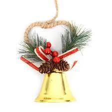 Felt Merry Christmas Red And Green Plaid Santa Claus Christmas Tree