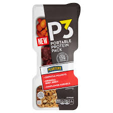 Planters P3 Chipotle Peanuts Beef Jerky Sunflower Kernels Protein