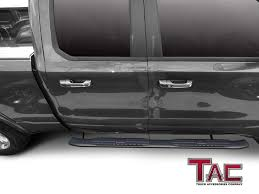 TAC Side Steps Running Boards Fit For 2019 Dodge Ram 1500 Crew Cab ... A1 Sidestep Truck Access Ladder Traxion Engineered Products Topline 746756372519 5 Oval Side Step Nerf Bars Running Boards Ram Hd Mopar Steps Do It Yourself Trend Buy 0515 Toyota Tacoma Quad Cab Bar Traxion 657974 Accsories At Bully Bbs1103 4pcs Stepbbs1104l Black Hitch Wled Tac For 092018 Dodge Ram 1500 Pickup 3 Close Up Of Stair Stock Photo Picture And Big Country Best Used To In Alberta